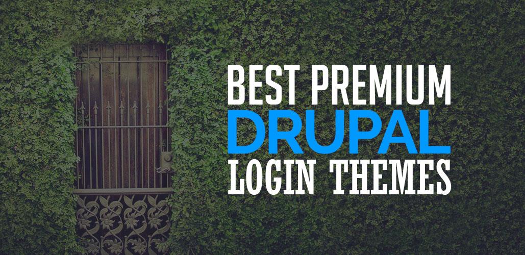 Premium Drupal Login Themes